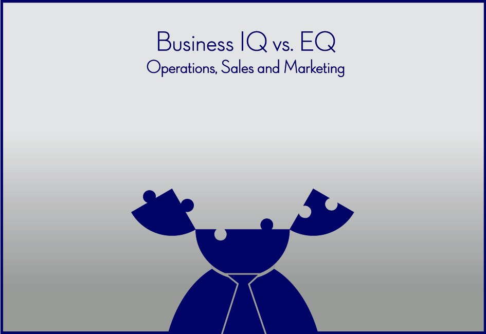 Business IQ vs. EQ - Operations, Sales and Marketing